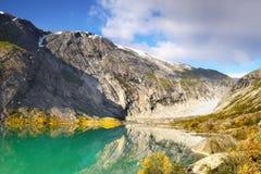 Green Mountain Lake Royalty Free Stock Image