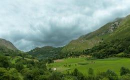 Green mountain landscape Stock Photo