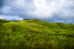 Green mountain landscape Inishowen, Ireland Royalty Free Stock Photography
