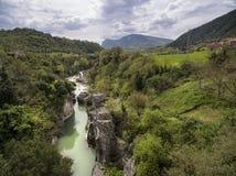 Furlo Gorge Urbino Italy Stock Images