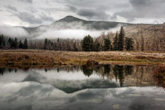 Green Mountain Reflection Royalty Free Stock Photography