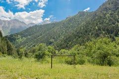 Green mountain slope Royalty Free Stock Image