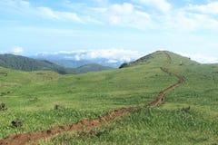 Green Mountain. Royalty Free Stock Photo