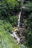 Green mountain spring water waterfall Royalty Free Stock Photo