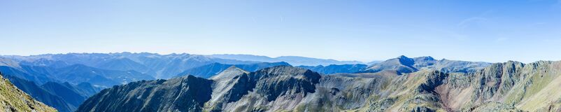 Green Mountain Under Blue Sky during Daytime Royalty Free Stock Image
