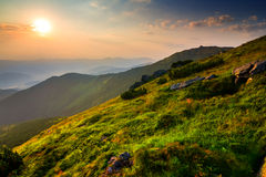 Free Green Mountain Valley Royalty Free Stock Photography - 45765097