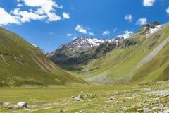 Green Mountain Valley, Austria Royalty Free Stock Photo
