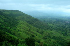 Green mountainous landscape Royalty Free Stock Photo
