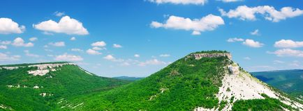 Green mountains Royalty Free Stock Image