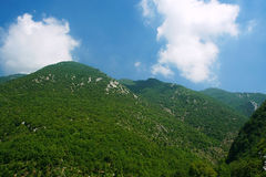 Green Mountains Stock Image