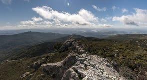 Landscape of from La Sauceda, Cadiz stock image
