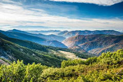 Green mountains and hills Royalty Free Stock Photo