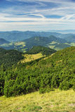 Green mountains landscape Royalty Free Stock Photography