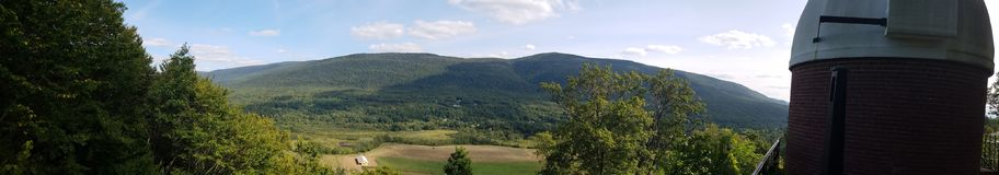 Green Mountains of Vermont stock images