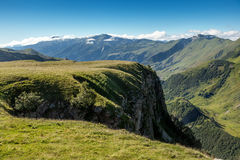 Green mountainside Royalty Free Stock Photography