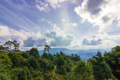 Green moutain - Chiang Mai, Thailand Stock Images