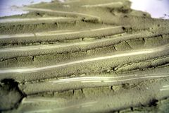 Green mud, abstract background Royalty Free Stock Photos