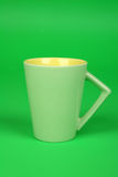 Green Mug Stock Photo