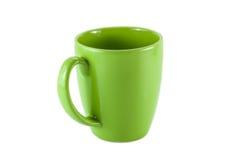 Green mug Royalty Free Stock Photography