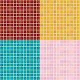 green multi small tiles διανυσματική απεικόνιση