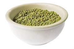 Green mung bean Royalty Free Stock Images