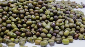 Green mung beans Stock Photography