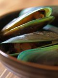 Green mussels #1 Stock Photo