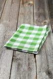 Green napkin Stock Photos