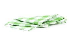 Green napkin Royalty Free Stock Photography