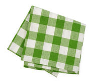 Green napkin Royalty Free Stock Photos