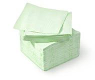 Green napkin Royalty Free Stock Photos