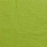 Green napkin Stock Photography