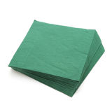 Green napkins Stock Photos