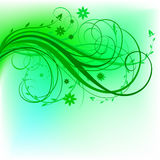Green_natural_design Obraz Royalty Free