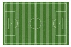 Green natural grass of a soccer field stock illustration