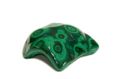 Green Natural Malachite Royalty Free Stock Image