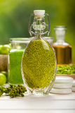 Green natural spa royalty free stock images