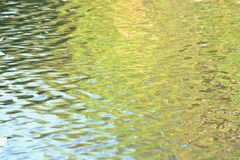 Water surface with sunlight reflection and splashing pattern for background backdrop royalty free stock photos