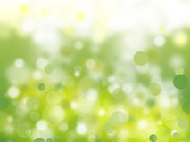 Green Nature Bubbles Royalty Free Stock Photo