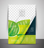 Green Nature Concept Print Template Royalty Free Stock Images