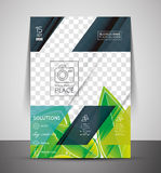 Green Nature Concept Print Template Stock Photography