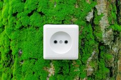 Green nature energy Stock Photo