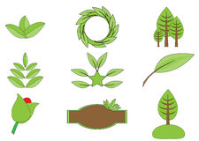 Green nature icon Royalty Free Stock Photos