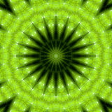 Green nature mandala 03 Royalty Free Stock Photos