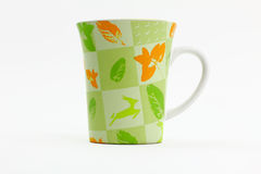 Green Nature Mug Royalty Free Stock Images