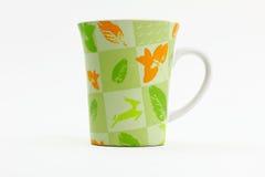Green Nature Mug Royalty Free Stock Images