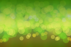 Green bokeh blurs background Stock Photos