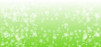 Green Nature Sparkle Vector Background Design. Isolated Vector royalty free illustration