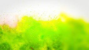 Green Nature Yellow Background Beautiful elegant Illustration graphic art design Background. Image stock illustration