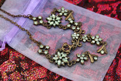 Free Green Necklace Royalty Free Stock Photo - 4459715